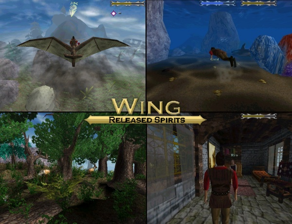 Click to view Wing: Released Spirits 1.5 screenshot