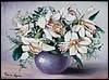 Fehér virágok 30/40 cm