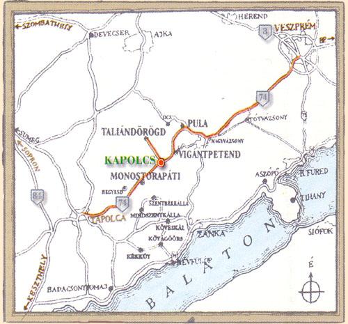 kapolcs térkép Vörösmarty ház, Kapolcs kapolcs térkép